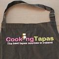 CookingTapas Apron Adult Black