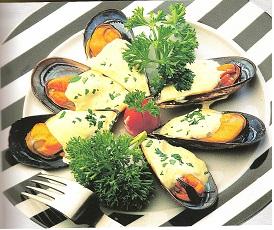 MusselsGarlicMayonnaise